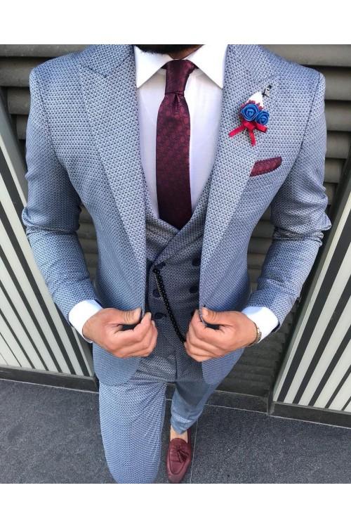 Свадебный стильный костюм G76
