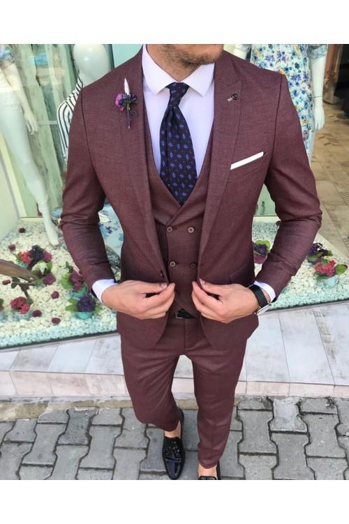 Стильный деловой костюм G27