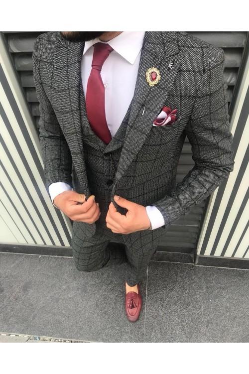 Потрясающий мужской костюм G124