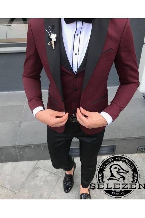 Свадебный костюм тройка G82