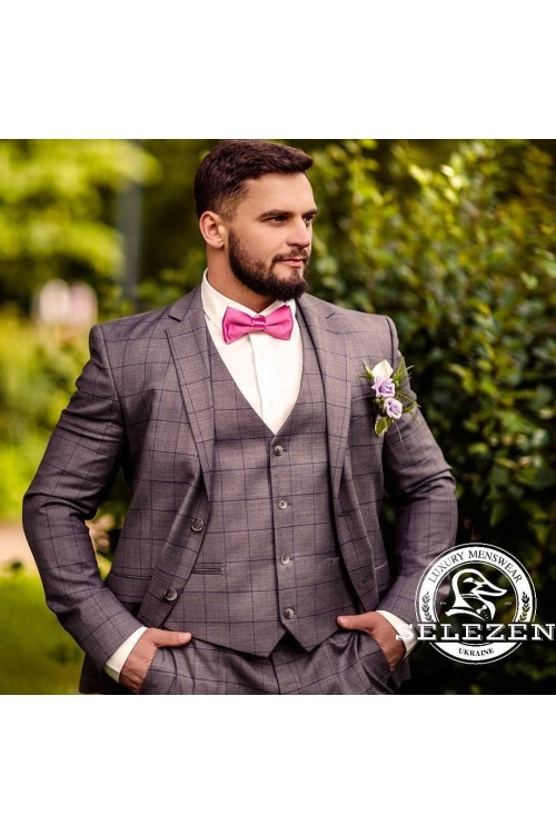 Свадебный стильный костюм G85