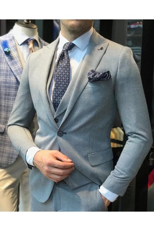 Деловой костюм G36 тройка