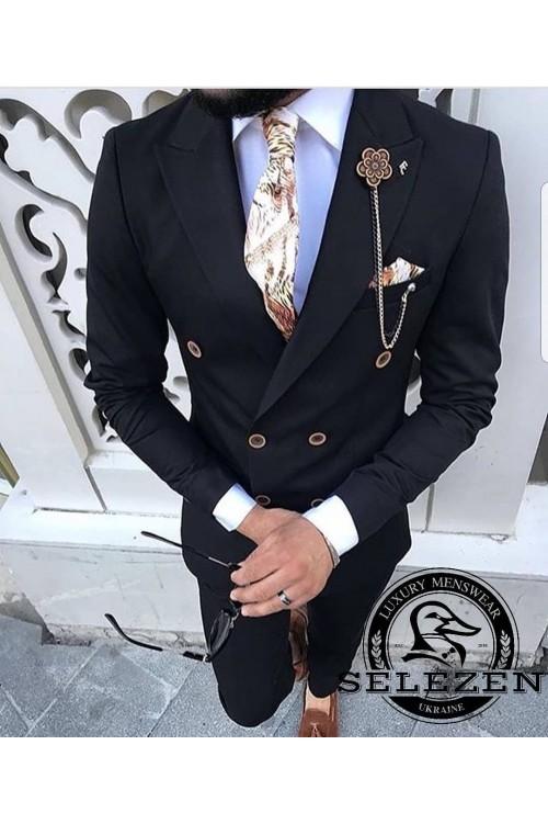 Свадебный стильный костюм G93