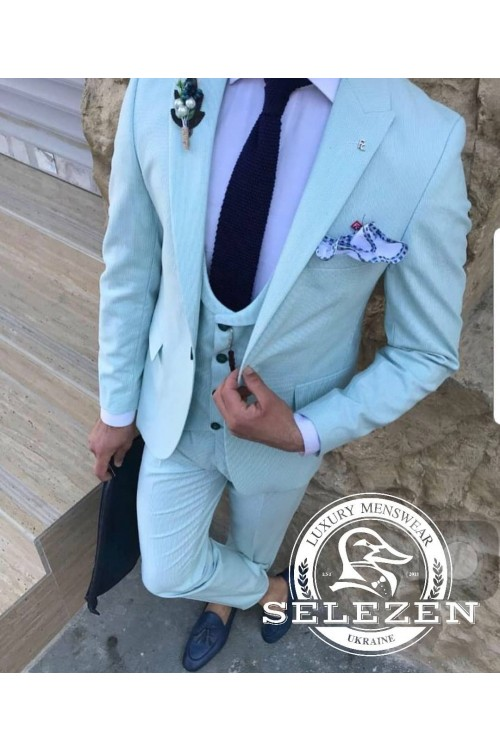 Стильный костюм тройка  G69