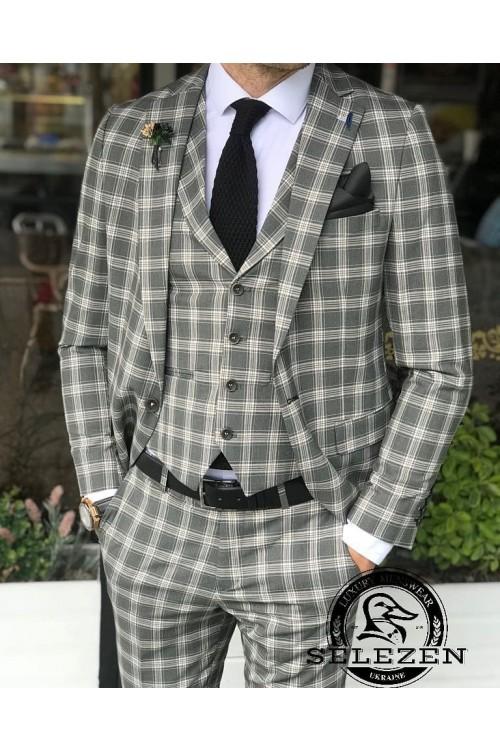 Свадебный стильный костюм G97