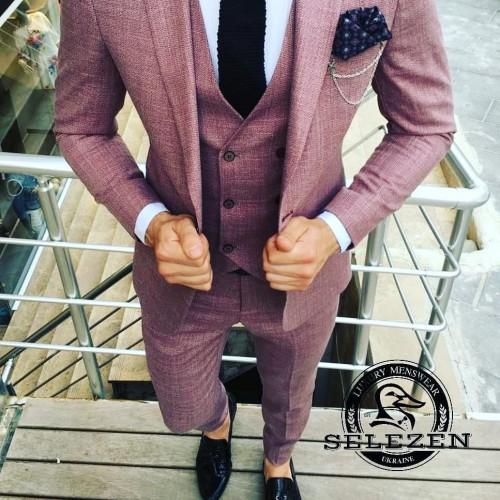 Свадебный костюм тройка G101