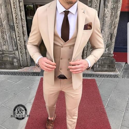 Свадебный стильный костюм G107