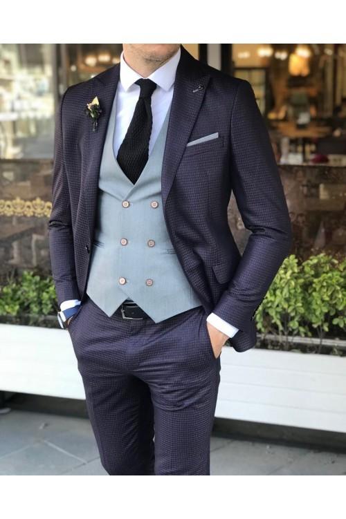 Свадебный стильный костюм G57