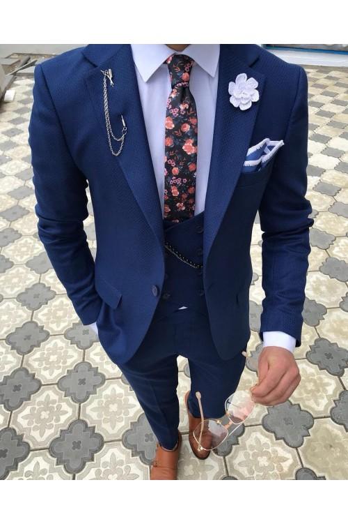 Традиционный синий костюм G161
