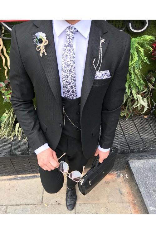 Неординарный деловой костюм G163