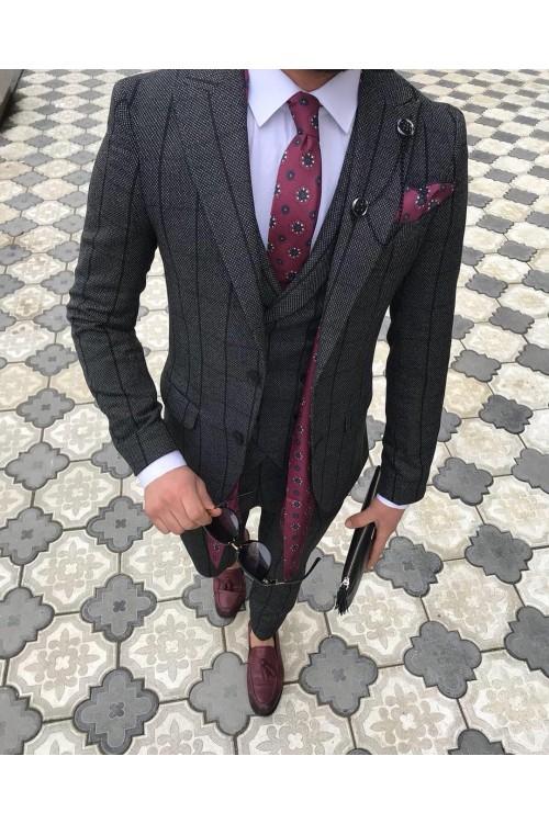 Парадный стильный костюм G164