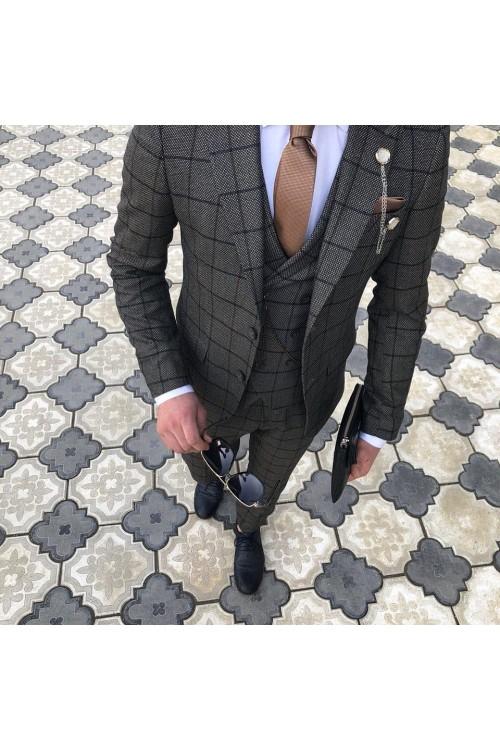 Свадебный костюм тройка G166